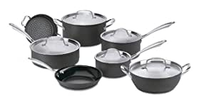 Cuisinart GG-12 GreenGourmet Hard-Anodized Nonstick 12-Piece Cookware