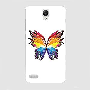 Back cover for Redmi Note 3G,4G Abstract Butterfly