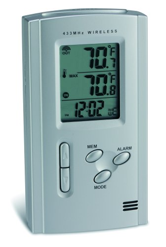 Digiview TE12 Wireless Weather Station with Quartz Clock