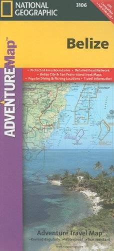 Belize (Adventure Map (Numbered))