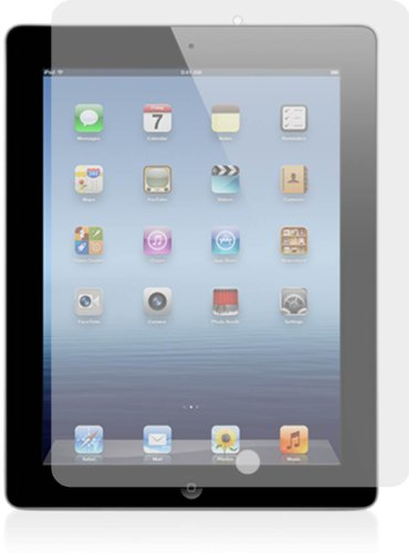 AM amFilm Premium Screen Protector Film Clear (Invisible) for the New iPad (iPad 3, the 3rd generation) (2-Pack) [in AM retail package]