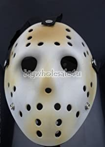 V for Vendetta Mask/friday the 13th Jason Voorhees Deluxe Eva Hockey Mask/ Halloween Cosplay Costume Balls Ladies Venetian(black/white/red) Lace - Masquerade Mask - Party Mask - Half Mask with Flowers/retro Roman Gladiator Halloween Party Facial Masquerad