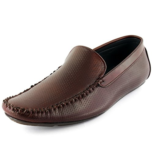 Faces Genevieve Chris Brown Mens Casual Slip On Loafers