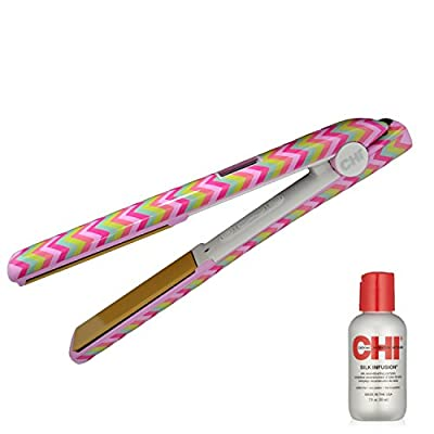 "CHI PRO G2 Digital 1"" Ceramic Flat Iron in Sugar Rush - Ionic Tourmaline Hair Straightener"