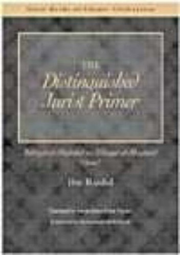 The Distinguished Jurist's Primer Volume II