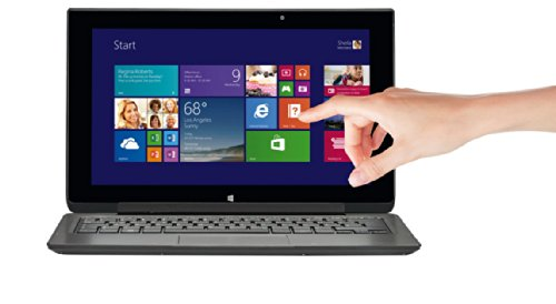 Medion P2211T 2in1 29.21 cm (11.5 Zoll) Notebook (intel Core_2_quad N2920 QuadCore, 2,0GHz, 4GB RAM, 4GB HDD,Win 8 Touchscreen) titan