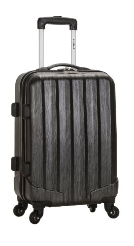 Rockland Luggage Melbourne 20 Inch Expandable Carry On, Metallic, One Size