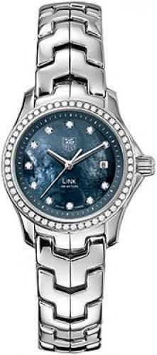 Tag Heuer Link Womens Blue Mother Of Pearl Dial Stainless Steel