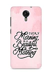 AMEZ every morning is a beautiful morning Back Cover For Micromax Canvas Xpress 2 E313