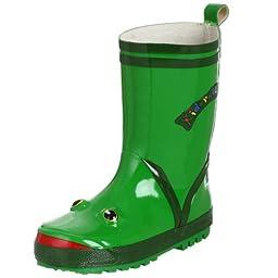 Kidorable Frog Rain Boot (Toddler/Little Kid), Green, 6 M US Toddler