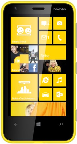 Nokia Lumia 620 Yellow, Factory Unlocked, International Version, Win8 Phone