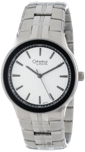Caravelle By Bulova Men'S 43A113 Stainless Steel Bracelet Watch