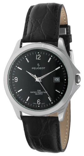 peugeot-mens-silver-tone-black-leather-strap-classic-dress-watch-296bk