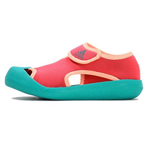 アディダス(adidas) キッズ チャイルド サンダルファン C AF3877 AF3878 1604 ジュニア 子供 子ども AF3878(ショックレッド) 18.0cm