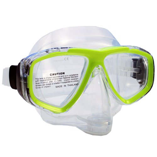 Promate Pro Viewer Purge Mask (Clear, Yellow)