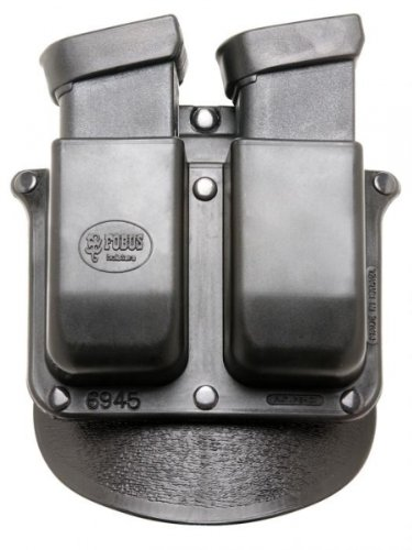 Fobus Paddle 6945P Double Mag Pouch 10mm 45acp GlockB0000C52MS
