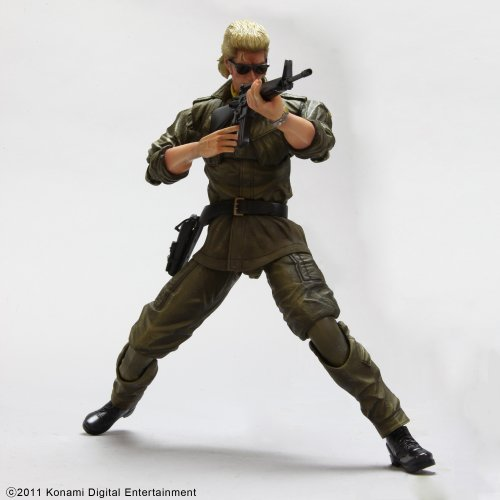 METAL GEAR SOLID PEACE WALKER PLAY ARTS改 Vol.4 KAZUHIRA MILLER (和平 ミラー)