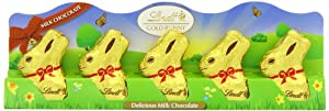 Lindt Gold Bunny Milk 50 g (Pack of 5, Total 25 Chocolates)