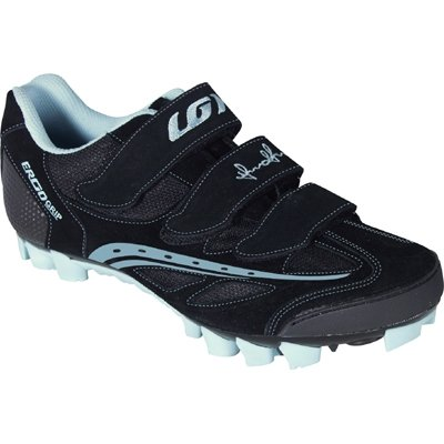 Louis Garneau 2011/12 Women's Monte Rosa Mountain Bike Shoes - Black - 1487046-020 (41)
