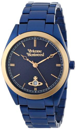 Vivienne Westwood - VV049NVNV - Montre Mixte - Quartz Analogique - Bracelet Bleu