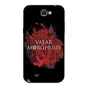 Gorgeous Valrmorghu Multicolor Back Case Cover for Galaxy Note 2