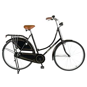 Hollandia Oma 28 Citi Bicycle (Black, 28-Inch)