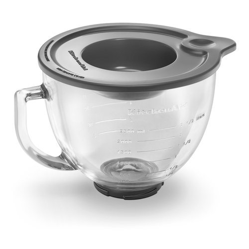 New Kitchenaid 5-Quart Glass Bowl With Lid K5Gb Fitstilt Ksm150Ps Artisan Mixers Best Quality Fast Shipping Ship Worldwide From Hengheng Shop