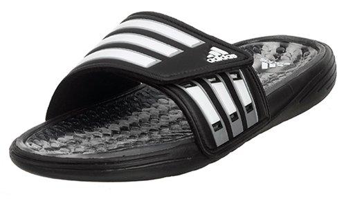 télex Berenjena Extremadamente importante  Looking for adidas Men s Calissage Slide Black White Silver 12 M - ddoggee