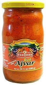 Podravka Hot Ajvar 690 Gram Jar by Podravka