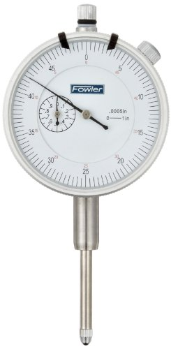 Fowler Indicator Accessories : Fowler agd dial indicator white face