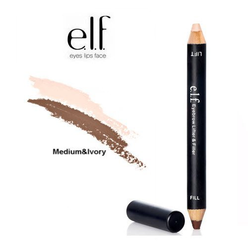 2 Pack e.l.f. Cosmetics Studio Eyebrow Lifter & Filler 81602 Ivory Medium (Eyebrow Lifter compare prices)