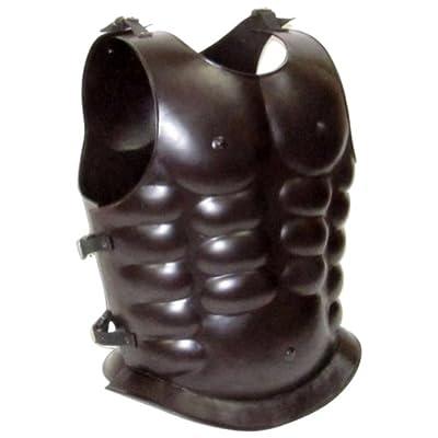 Armor Venue - Steel Breastplate Muscle Armor - Dark Brown - One Size