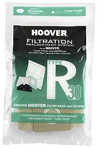 Hoover Type R30 Bag & Filter Set, 40101002