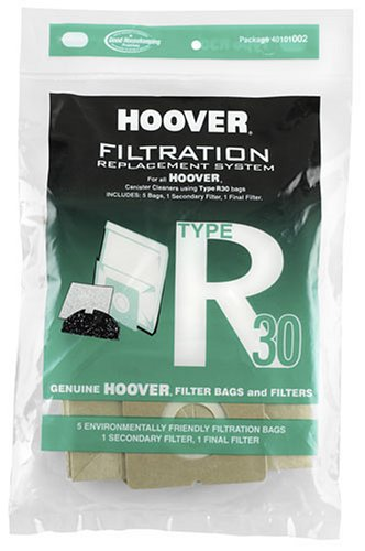 Hoover Type R30 Bag & Filter Set, 40101002 (Hoover Bags Type R compare prices)