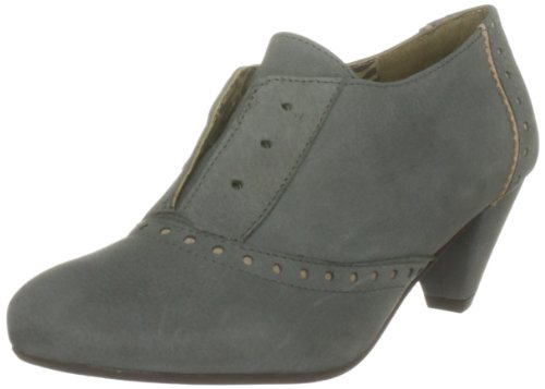 Fly London Women's Prinstone Leather Suede Grey/Ash Heels P142008002 6 UK