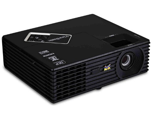 ViewSonic PJD5134 SVGA DLP Projectorwith 3D Blu-Ray Ready, Integrated Speaker and Dynamic ECO (Black)
