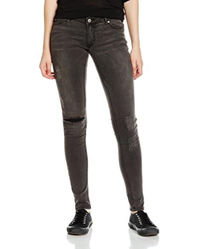Cheap Monday Jeans Slim Meltdown anthrazit