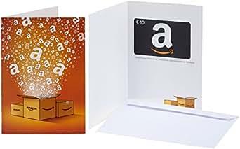 Amazon.de Grußkarte mit Geschenkgutschein - 10 EUR (Alle Anlässe)
