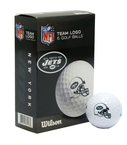 New York Jets Wilson Ultra Golf Balls - 6 Pack at Amazon.com