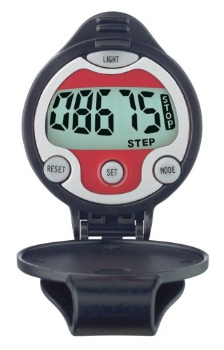 Cheap Sportline Walking Advantage 346 Night View Pedometer (WV3479BK)