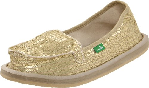 Sanuk Women's Limelight II Flip Flop,Gold,8 M US