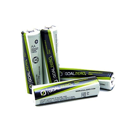 Goal Zero 11407 Rechargable AAA Batteries with Insert - 4 Pack