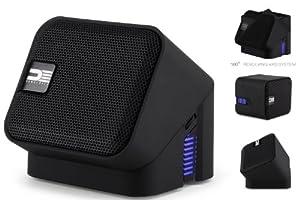 DEMOCRACY DEG100B Wireless Bluetooth Portable Speaker Speakerphone (Black)