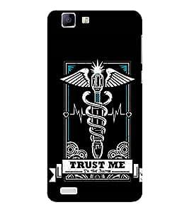 EPICCASE Trust the doc Mobile Back Case Cover For Vivo X 3s (Designer Case)