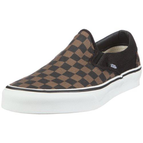 Vans Unisex Adult Classic Slip On Checkerboard Desert Palm/Black VLYF1Y0 6.5 UK
