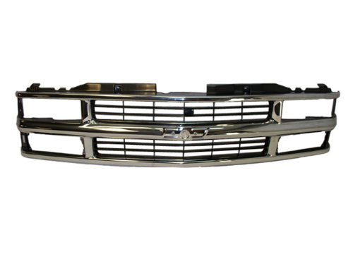 1994 1995 1996 1997 1998 1999 CHEVY SUBURBAN GRILLE CHROME / BLACK NEW (Chevy Chrome Parts compare prices)