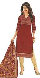 Design Willa Classic Cotton Dress Material (DW082)
