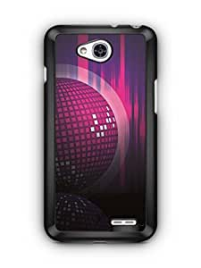 YuBingo Disco Background Designer Mobile Case Back Cover for LG L90