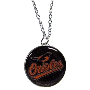 MLB Baltimore Orioles Charm Necklace