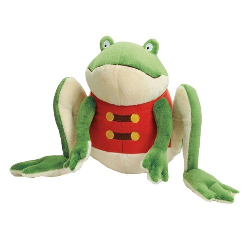 "William the Curious Knight of the Water Lilies 13"" Plush Frog by Kohl's Cares - 1"
